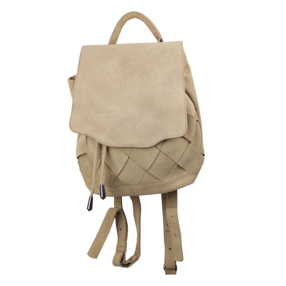 Mochila Made in Lida Feminina Beige X4