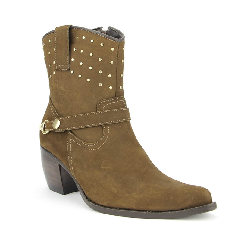 Bota West Country 11119 Nobuck Taupe Vr25
