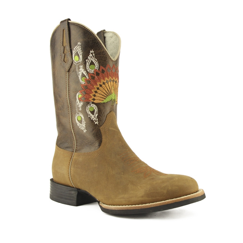 Bota West Country Masculina Western Crazy Havana Marrocos Cafpe 81192 VR50